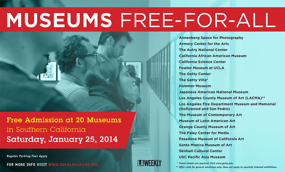 9th Annual Museums Free-For-All