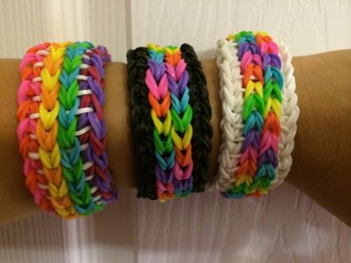 latest trend rainbow loom bracelets itsysparks