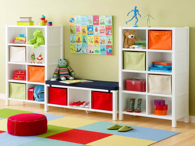 Bedroom organization ideas for kids itsysparks for Bedroom organization